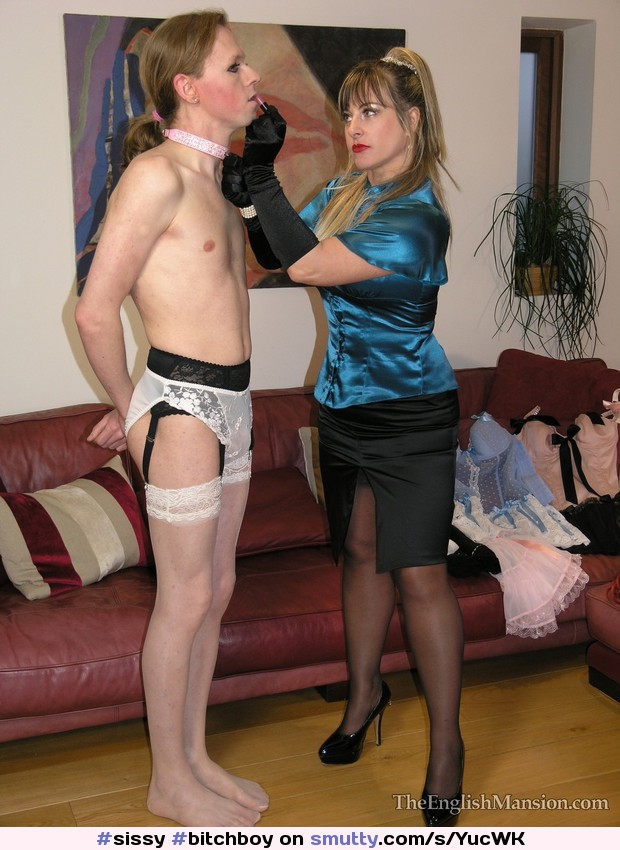 Sissy crossdresser training