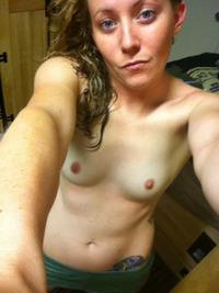 Teen girl mirror selfies jizz free porn