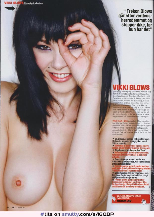 Vikki Blows Topless Fuq 1