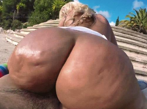 Big Booty Black Girl Bounces Her Ebony Ass On A Chocolate Cock.