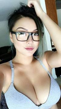Have girls with big tits glasses self shot opinion you