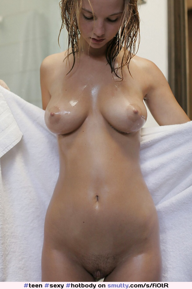 Sexy boobs in shower