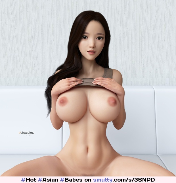 Delicatelime Artwork - #Hot #Asian 3D #Babes