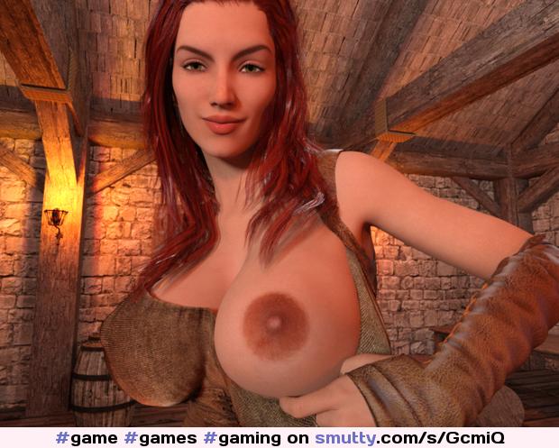 Boobs big porno games