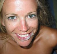 Milf close up facials