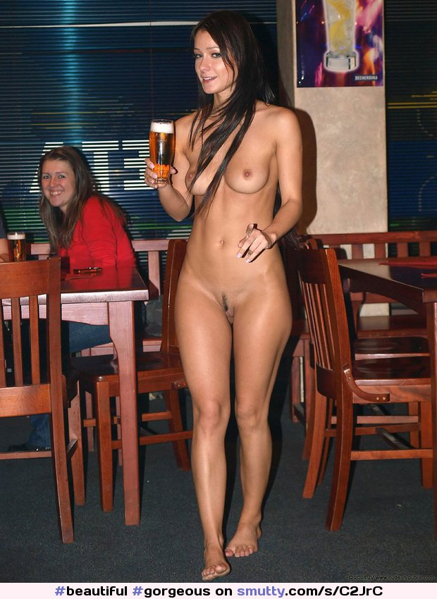 Beer and boobs nude