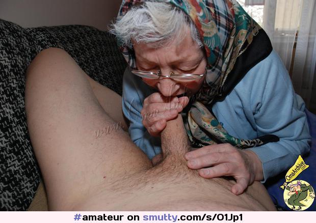 Amateur Granny Blowjob Swallow