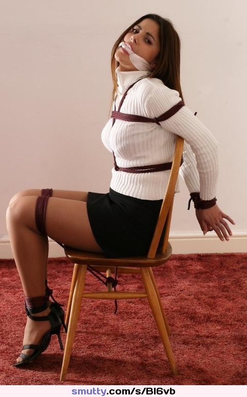 and bondage rope heels Sweater