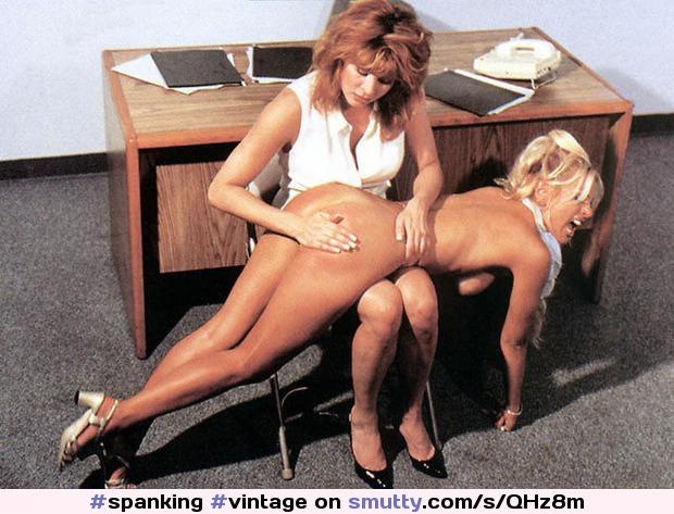 Spanking Vintage Retro Lesbian Agony Milf  Smuttycom-6574