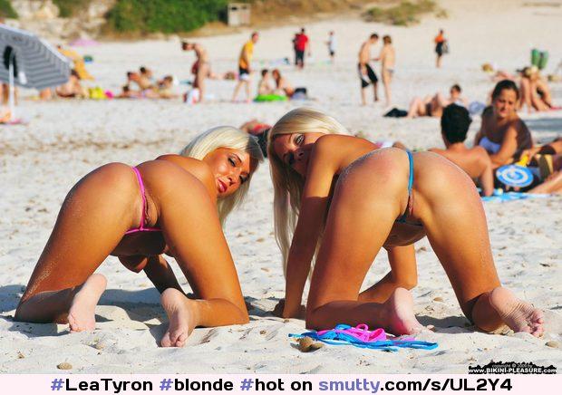 Public Beach Blowjob Pov