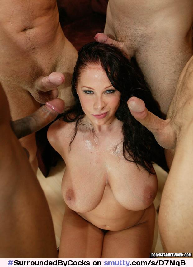Huge Tits Gangbang, Porn