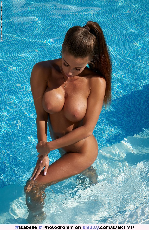 #Isabelle #Photodromm #Pool #Brunette #Outdoor #Wet #Sexy #BigTits #NaturalTits #PerfectTits #Nipples #NipplesIwouldsuck #TitsIwouldplaywith