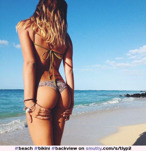 butts bikini beach porn Free