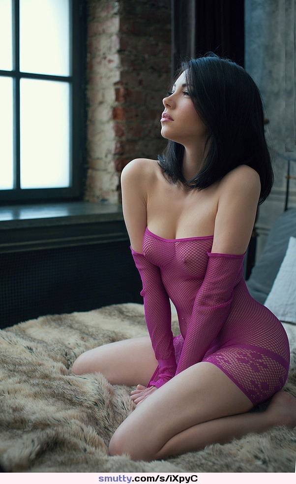 #nonnude#pink#fishnetbody#seethru#seethrough#sheer#brunette#pokies#pointy#erectnipples#pointynipples#perfecttits#perfectbreasts#PerfectBoobs