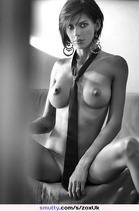 #indian#desi#brunette#eyecontact#TieBetweenTits#BlackAndWhite#photography#lightandshadow#nipples#boobs#breasts#tits#cleavage#NiceRack#busty