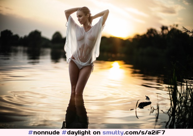#nonnude#daylight#nature#outdoor#silhouette#water#wet#wetlooks#wethair#waterdrops#reflection#photography#seethru#seethrough#sheer#waterbody
