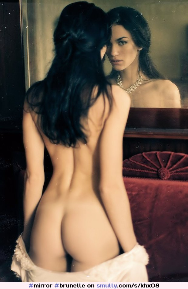 #mirror#brunette#reflection#rearview#necklace#ass#sexyass#niceass#cuteass#perfectass#assworship#buttcleavage#AssCleavage#asscrack#buttcrack
