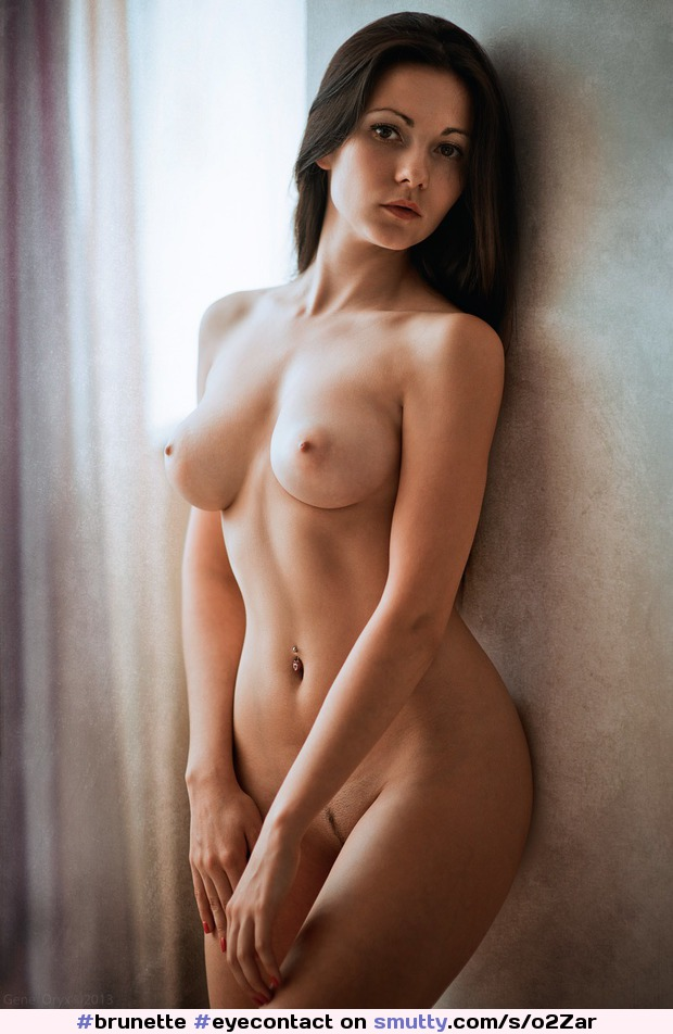 Gorgeous Brunette Poses Nude