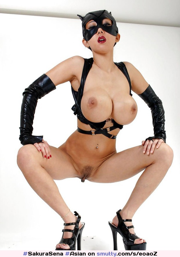 Catwoman Nude Cosplay Hot Pornpaw 1