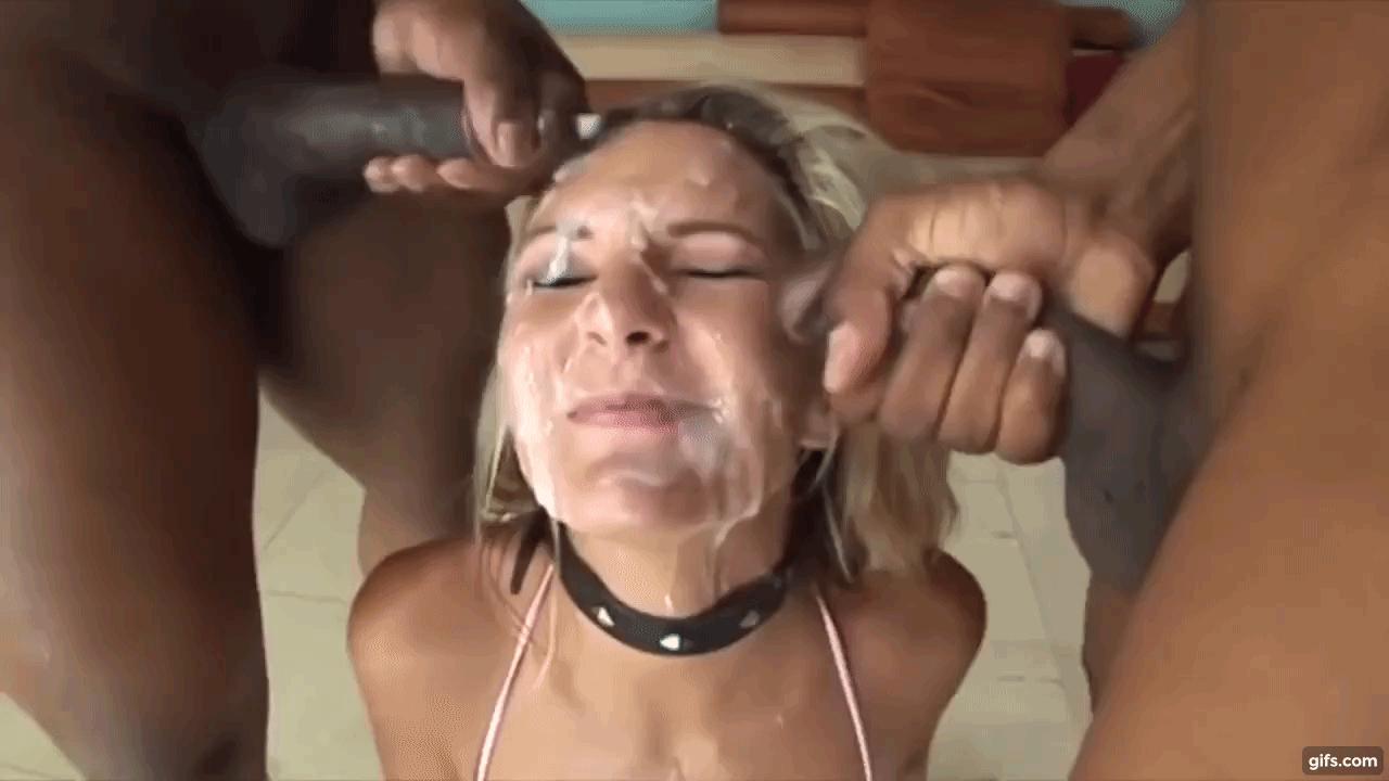 Teen Emily Willis Does Bukkake In A Blowbang