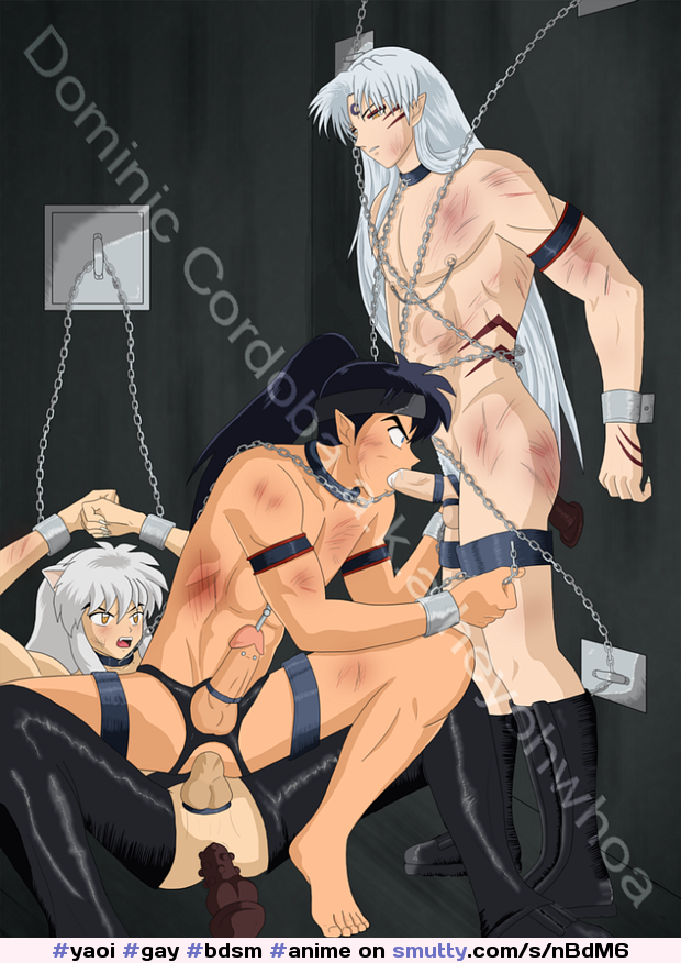 #yaoi #gay #bdsm #anime