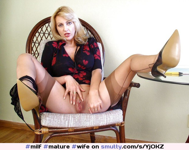 #milf #mature #wife #hotwife #milfpussy #milfspread #legsspread #spread #legs #spreadlegs #legsup #nopanties #pussy #heels #tights #nonnude