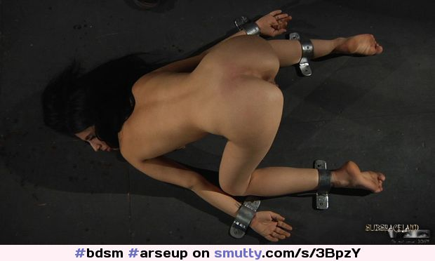 #bdsm #arseup #restrained