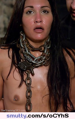 #sexslave #whore #sexy #bdsm #chained #obedient