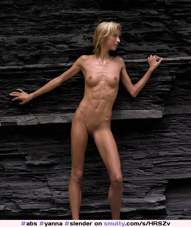 Naked skinny girls after working out #7